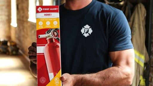 Rechargeable Home Fire Extinguisher UL Rated 1-A:10-B:C