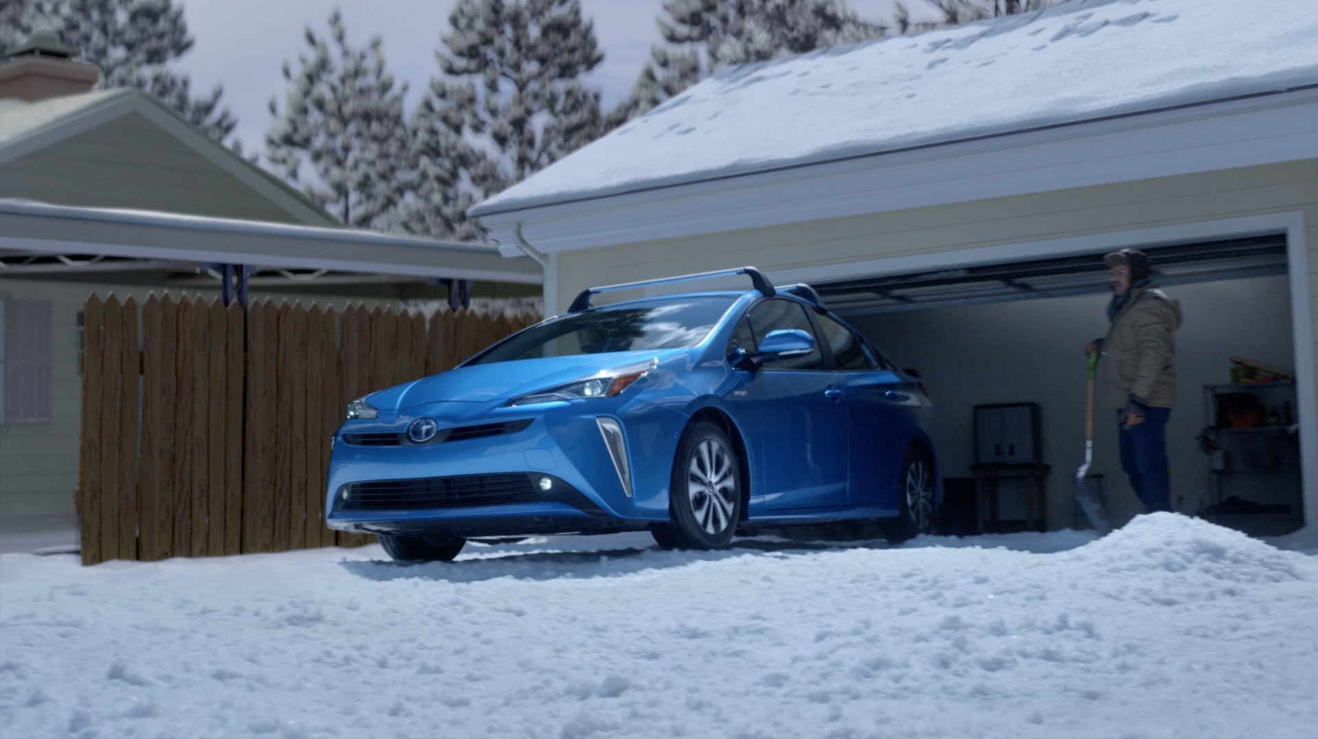 """Snow"" is a spot featured from Toyota's new 2020 Prius Campaign, ""It's Unbelievable."""