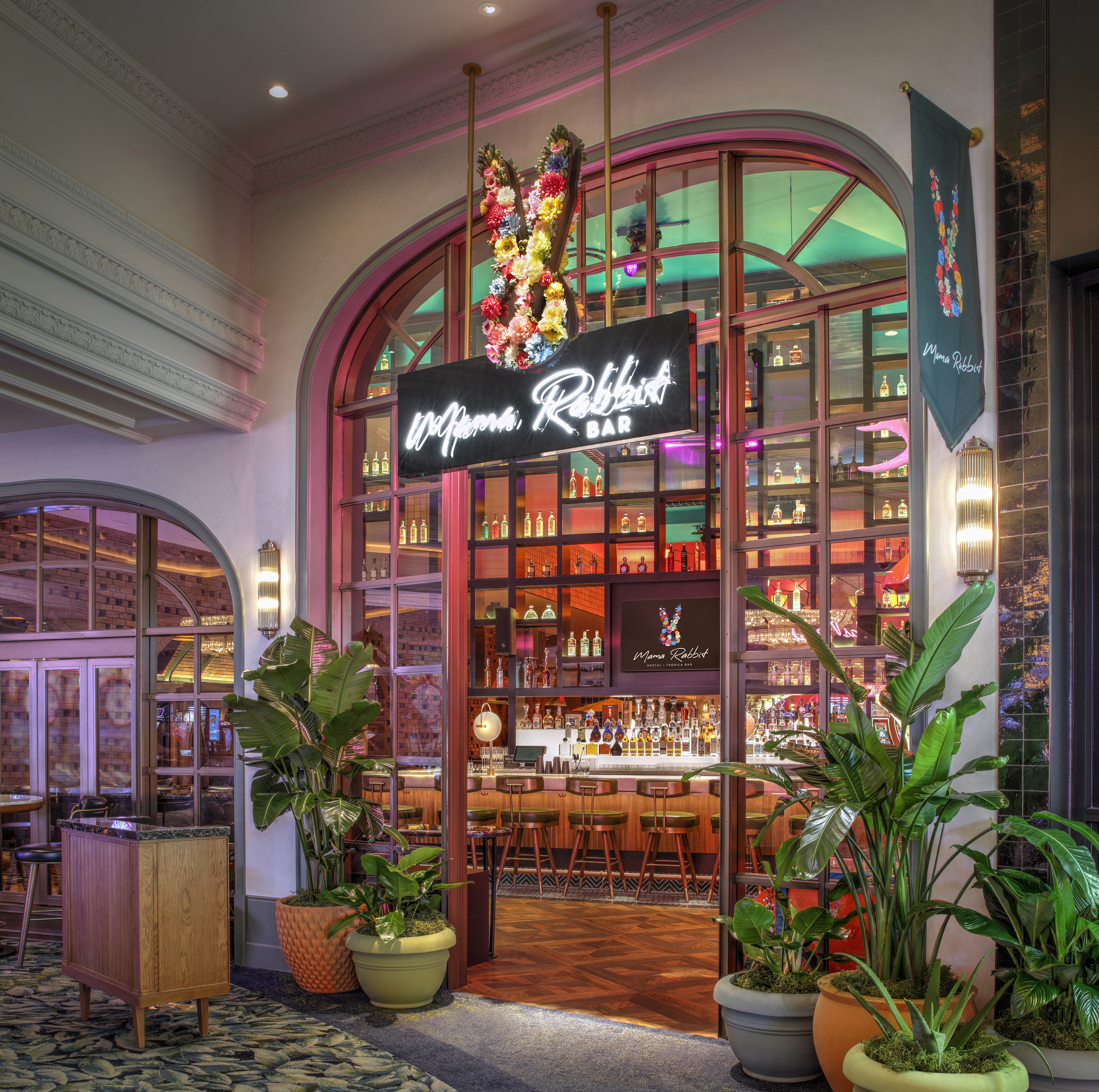 Mama Rabbit Bar at Park MGM in Las Vegas