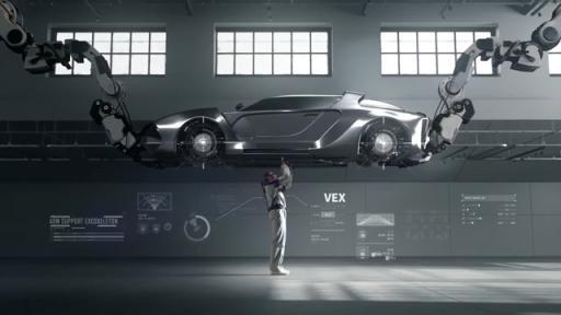 HMG - Vest Exoskeleton (VEX) wearable robot video (Hyundai Motor Group Version)