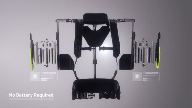 Hyundai - Vest Exoskeleton (VEX) wearable robot video (Hyundai Motor Version)