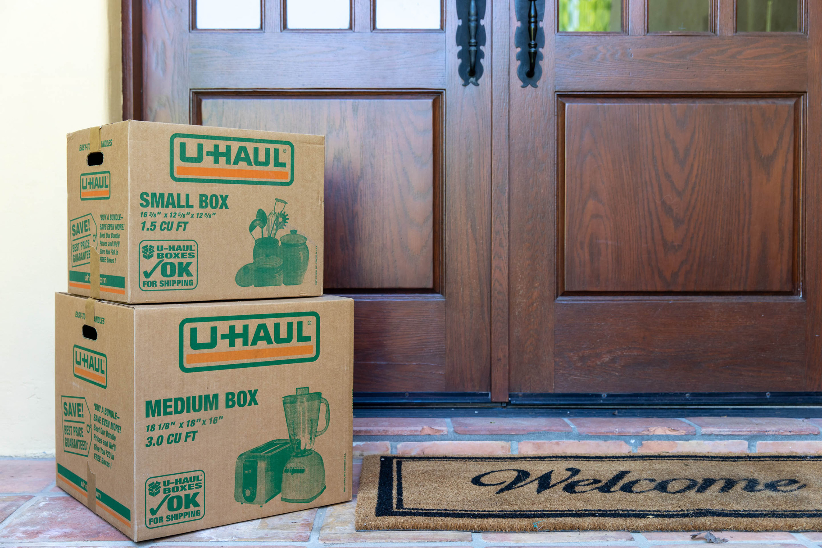 Nothing says social distancing like quarterbacking your move from home. Moving supplies, boxes and other items can be delivered to your doorstep when you order online at uhaul.com.