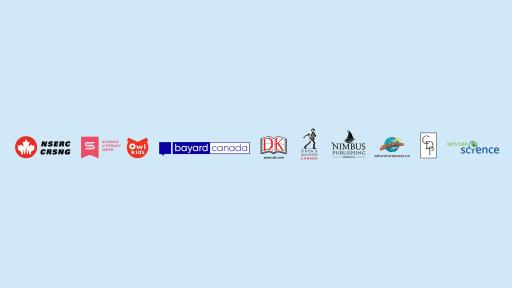 National Science Reading Day Supporter logos