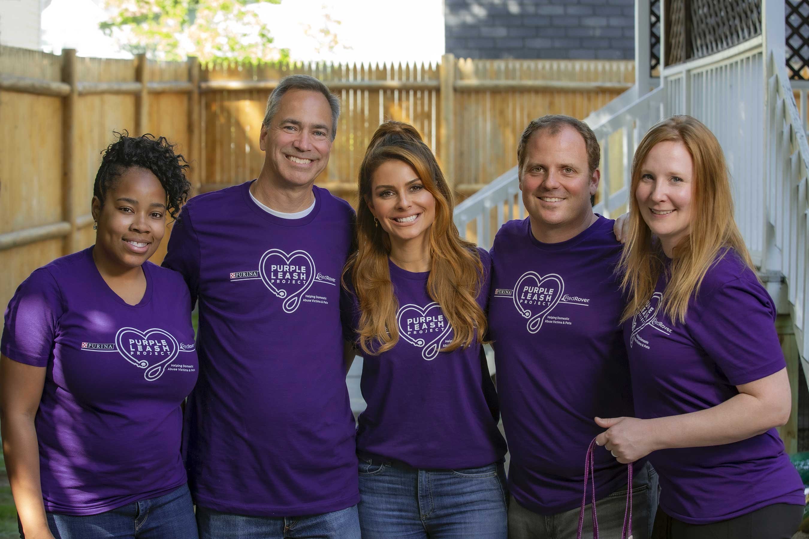 Purina has committed more than $500,000 to create RedRover + Purina Purple Leash Project Grants, which provide funding to make domestic violence shelters pet-friendly and help with renovations for pet owners escaping abuse.