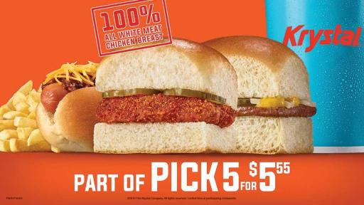 New Nashville Hot Chik part of Pick 5 for $5.55