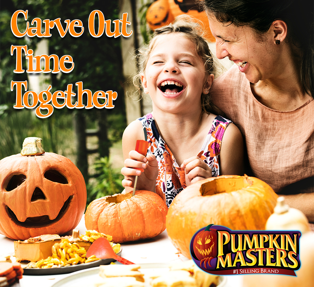Carve out time together with Pumpkin Masters.
