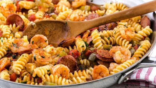 Zatarain's Sausage and Shrimp Pastalaya