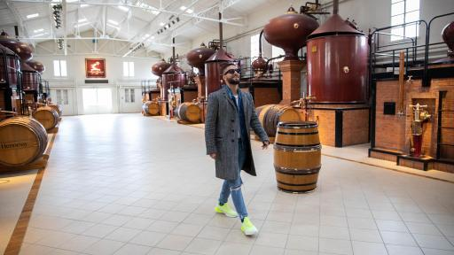 "From Cognac to Colombia, Hennessy spotlights Maluma's ""Never stop. Never settle."" journey"
