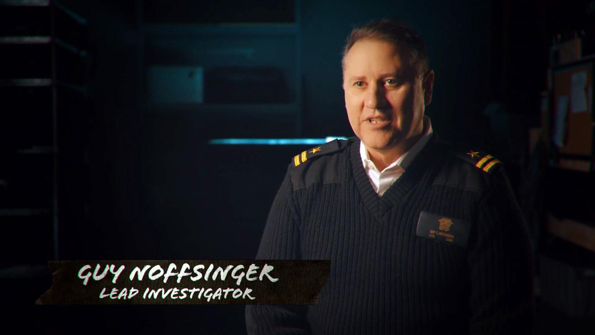 Guy Noffsinger, Retired Naval Intelligence Officer