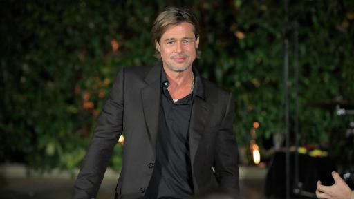 Breitling Cinema Squad Member Brad Pitt at the Breitling Summit in Los Angeles, California.