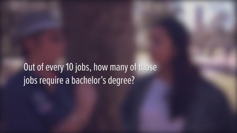 How Many Jobs Need a 4 Year Degree