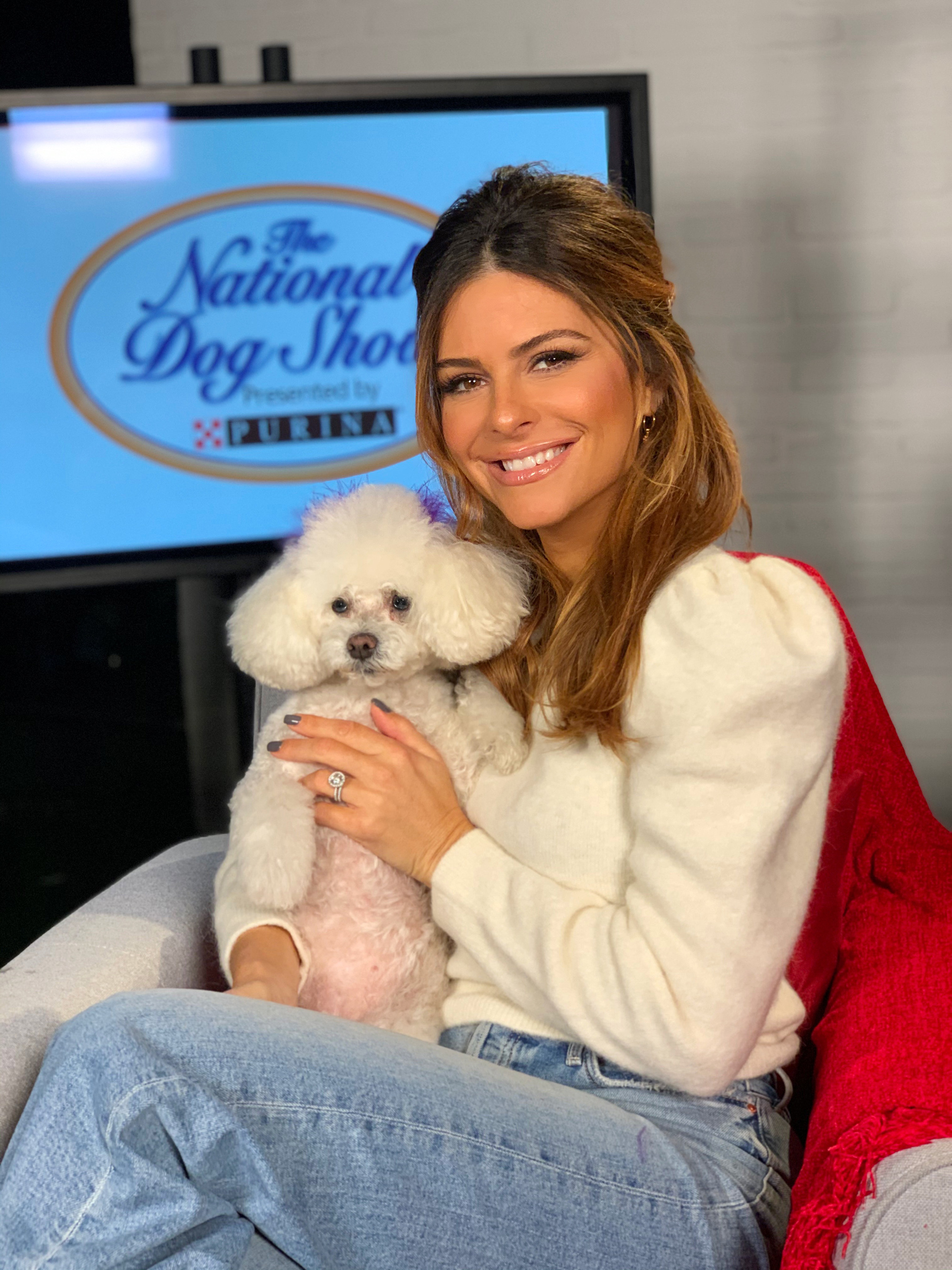 """Whinnie and I love #DogThanking because it highlights the countless roles our pets play in making our lives better,"" said Emmy award-winning journalist and pet enthusiast Maria Menounos."