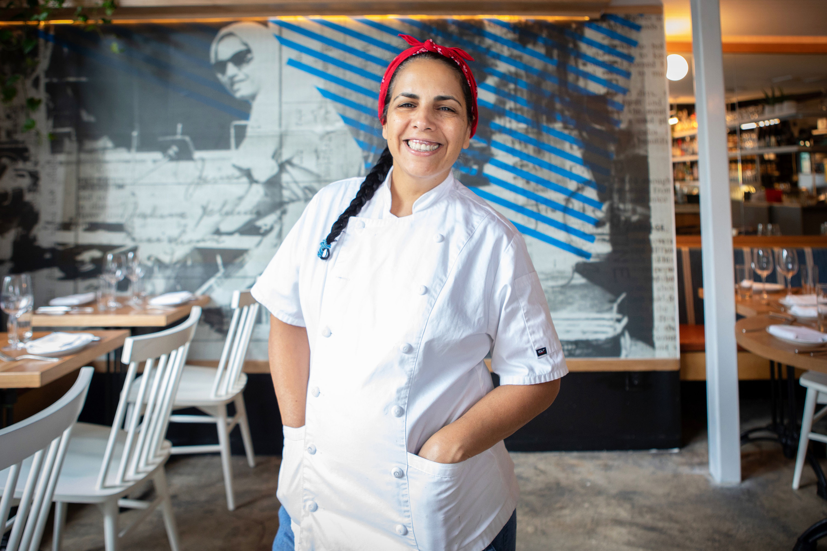 Chef Einat Admony - Chef at Kish-Kash, Taim, and Balaboosta and author of Shuk: From Market to Table, the Heart of Israeli Home Cooking.