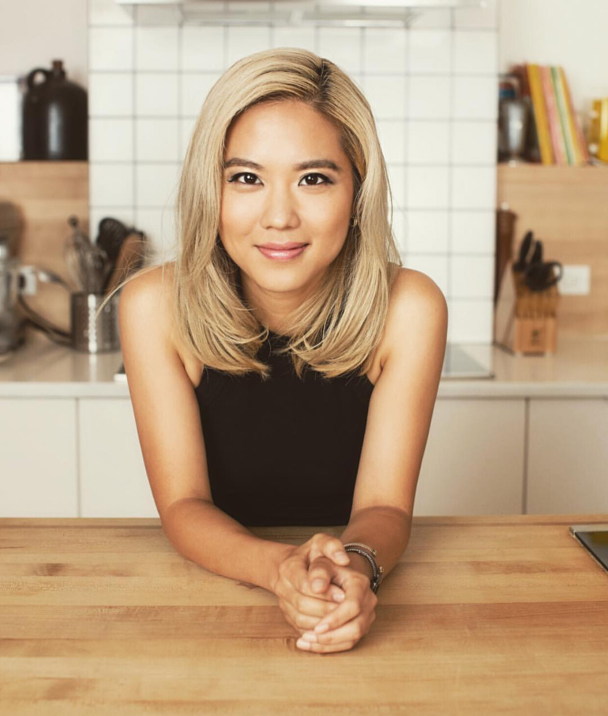 Chef Esther Choi - Hailed as New Rising Chef by Food Republic and named a Zagat 30 under 30 NYC Culinary Rockstar, Chef Choi owns Mŏkbar and Ms. Yoo in NYC.