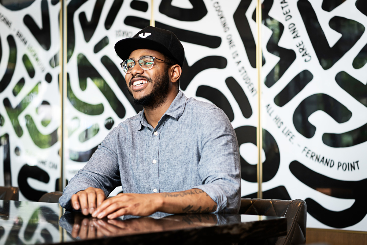 Chef Kwame Onwuachi - James Beard Award-winning executive chef at Kith/Kin and author of Notes from a Young Black Chef, Chef Onwuachi is a former Top Chef contestant and was named one of Food & Wines Best New Chefs and a 30 Under 30 honoree by both Zagat and Forbes.