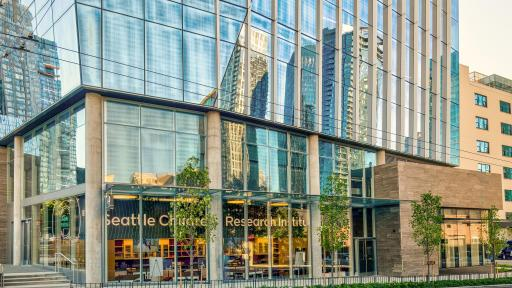 Seattle Children S Building Cure Opens In Downtown Seattle