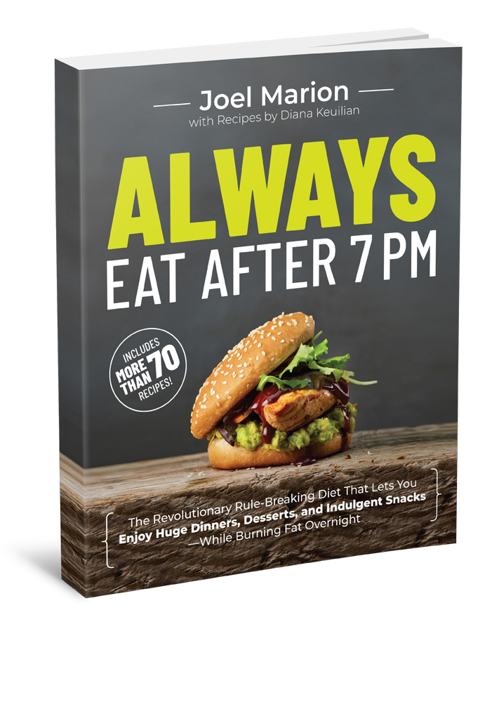 Always Eat After 7pm Front Cover