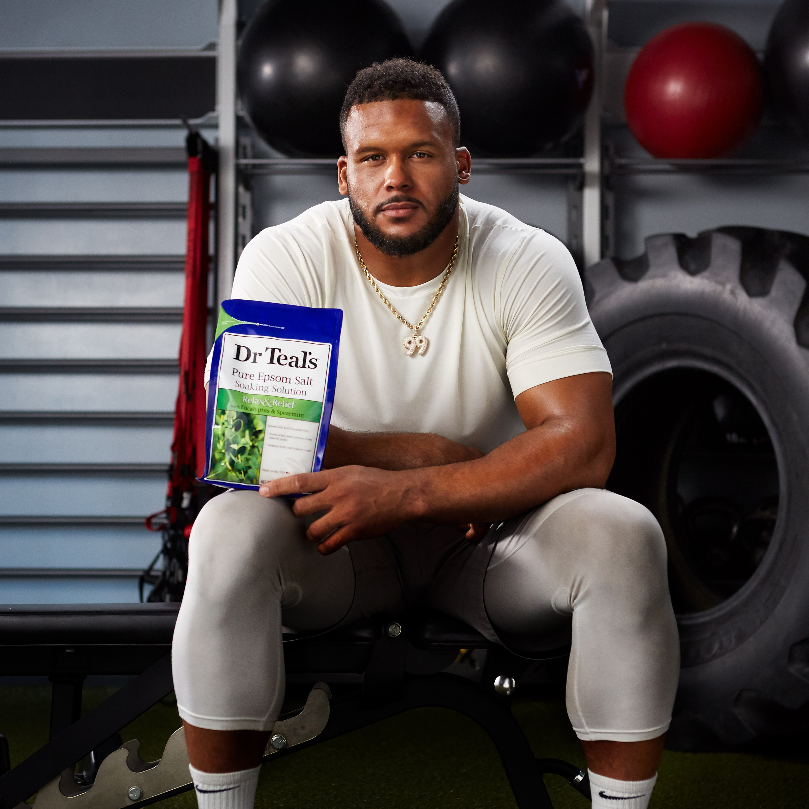 2X Defensive Player of the Year Aaron Donald