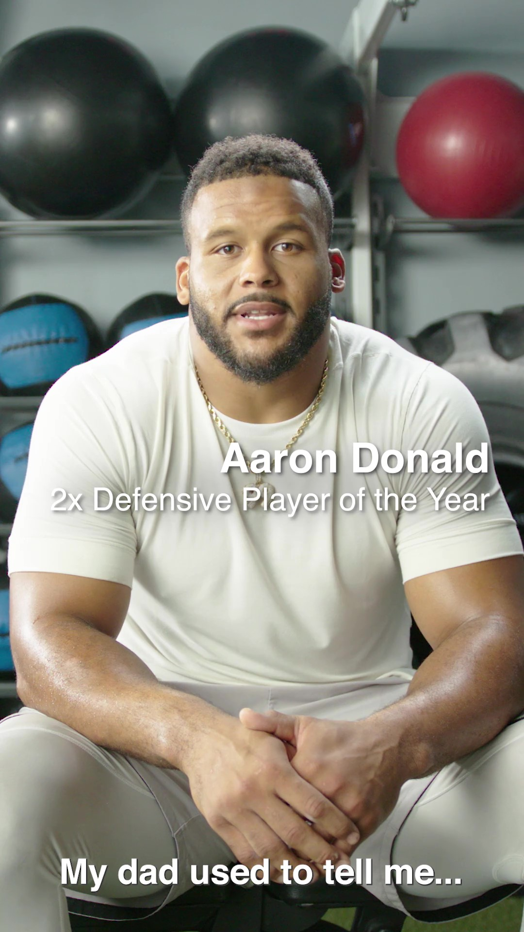 Aaron Donald Train to Soak Video
