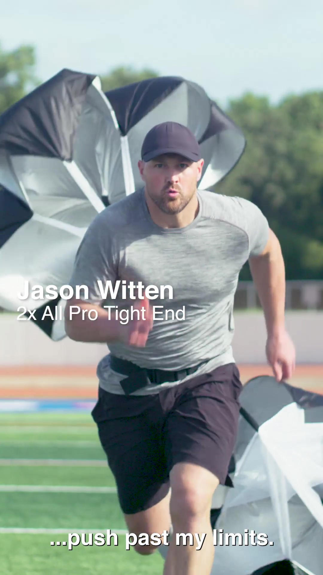 Jason Witten Train to Soak Video