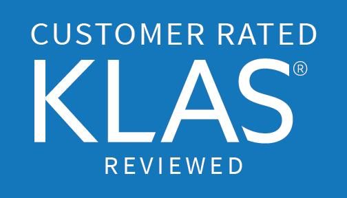 Customer Rated KLAS Reviewed 2016 Blue