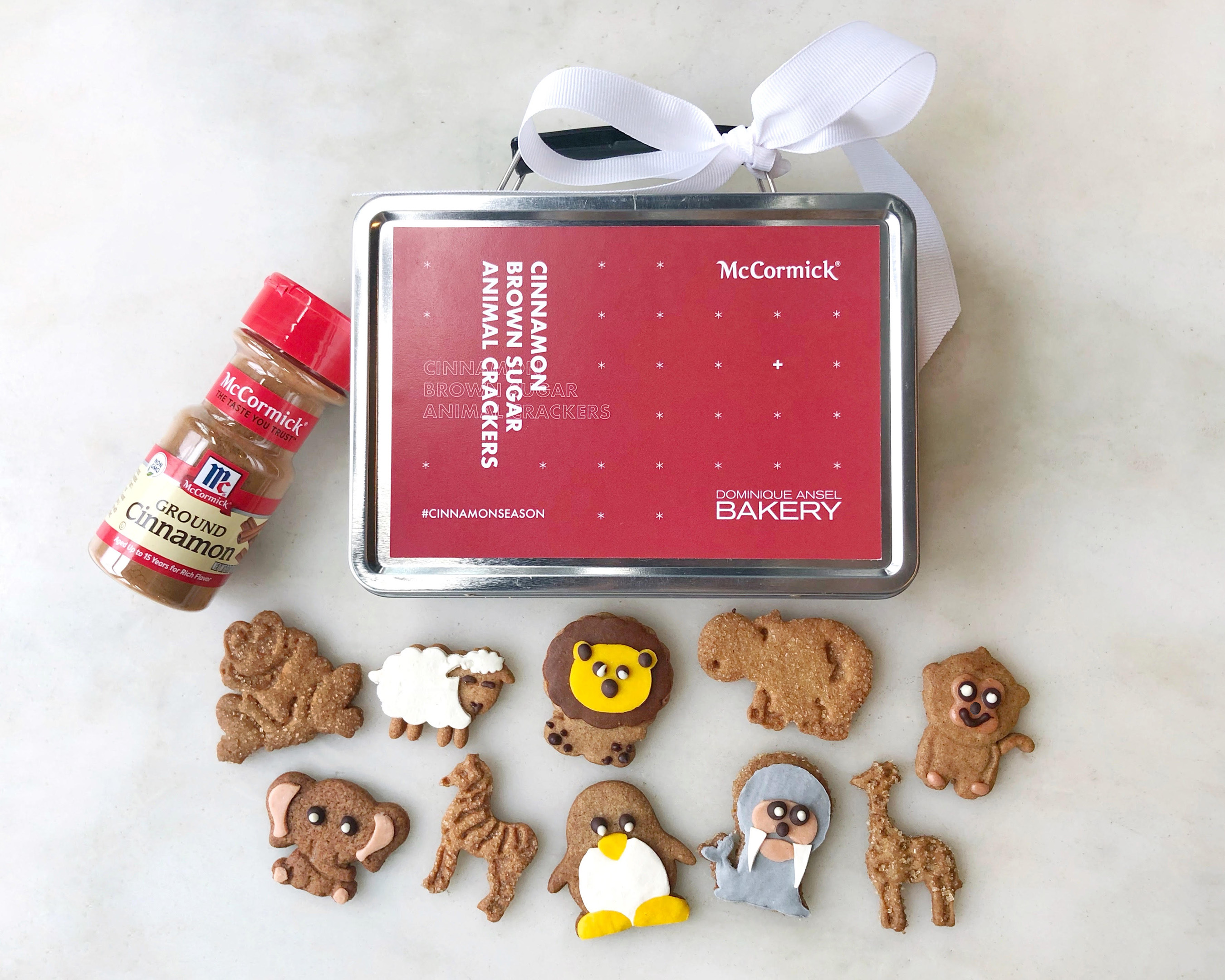 McCormick X Dominque Ansel Limited-Edition Cinnamon Brown Sugar Animal Crackers