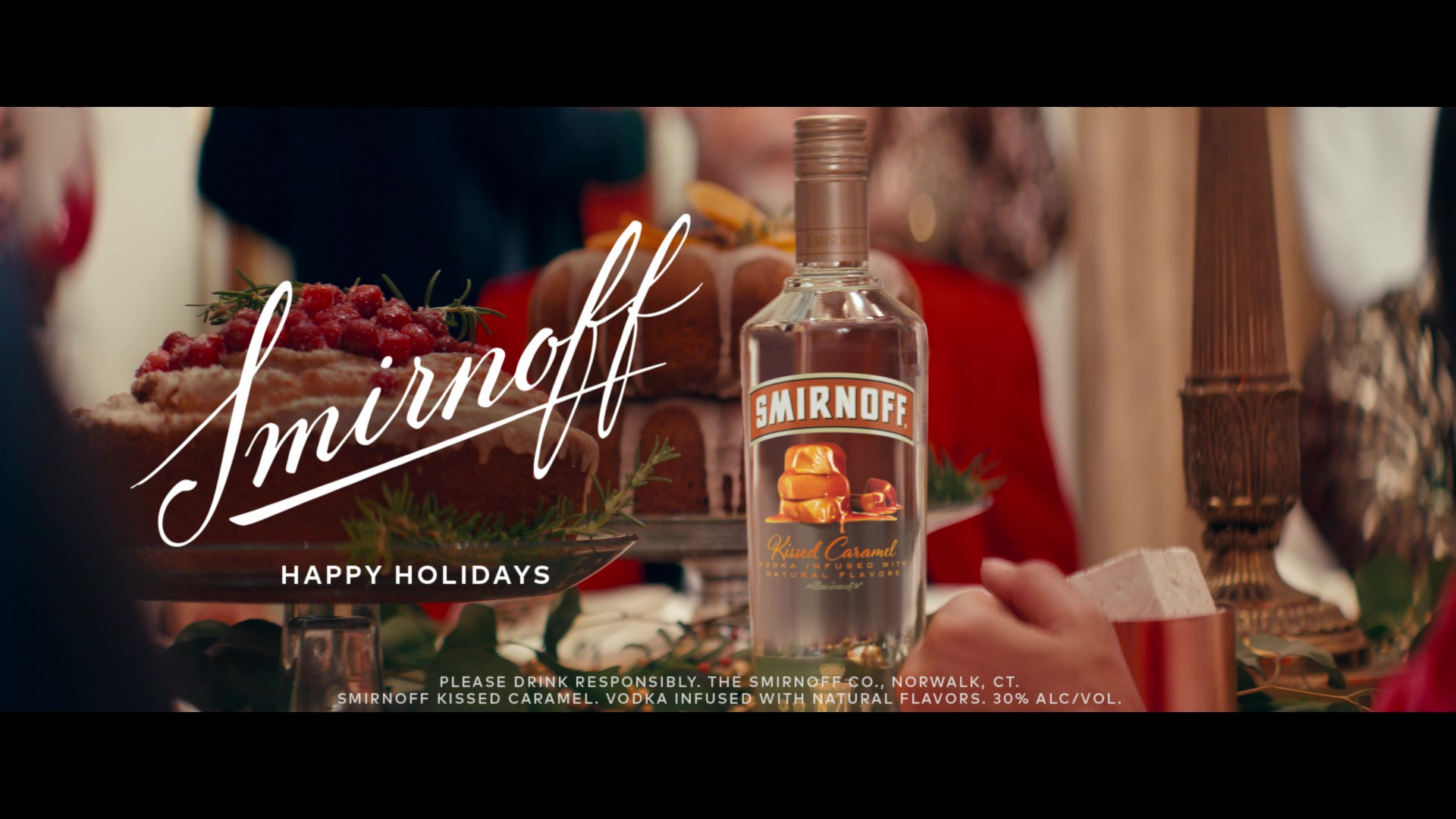"""Smirnoff releases new holiday campaign with Laverne Cox to celebrate """"not so silent"""" nights."""