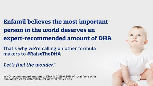 Raise the DHA infographic