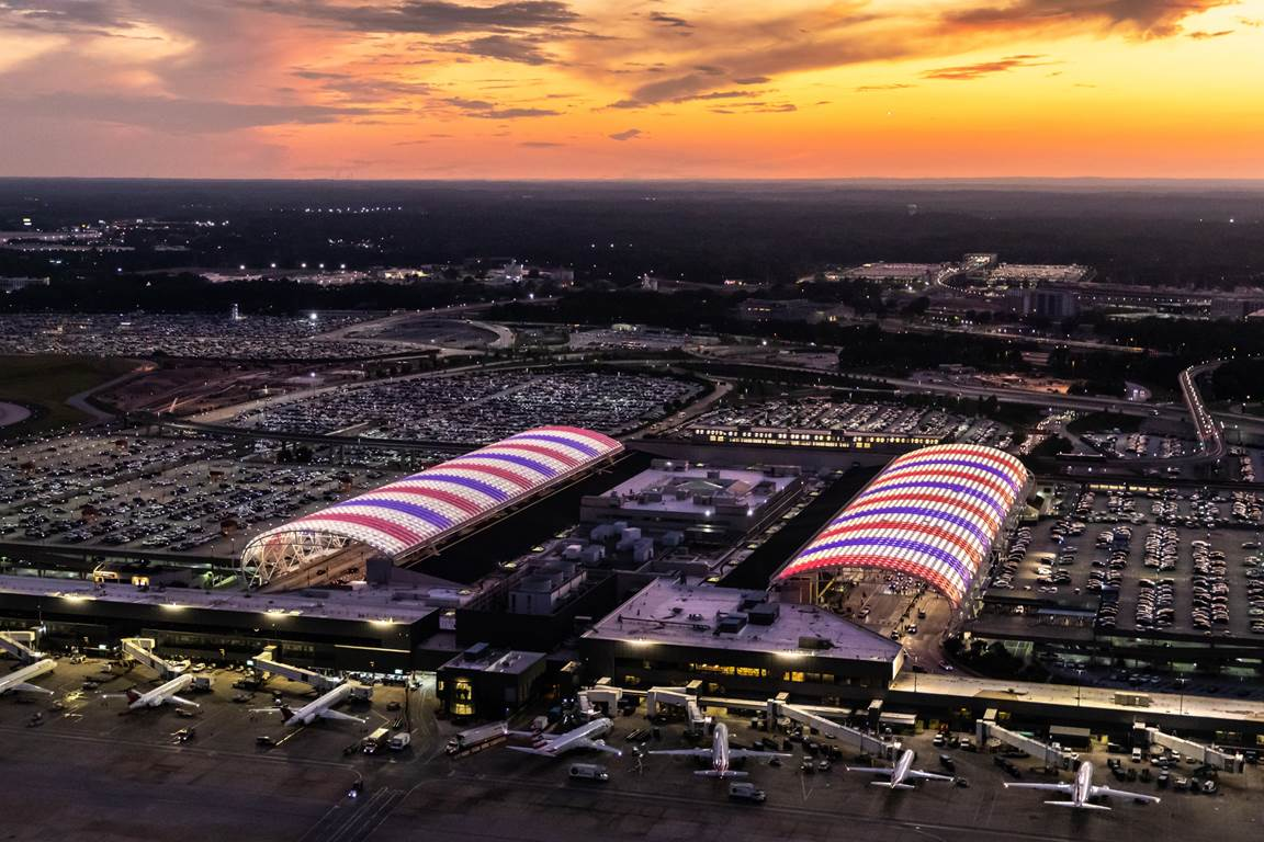 Passengers at Hartsfield-Jackson Atlanta International Airport, the busiest airport in the world, are enjoying a better restroom experience with the help of the KOLO™ Smart Monitoring System.