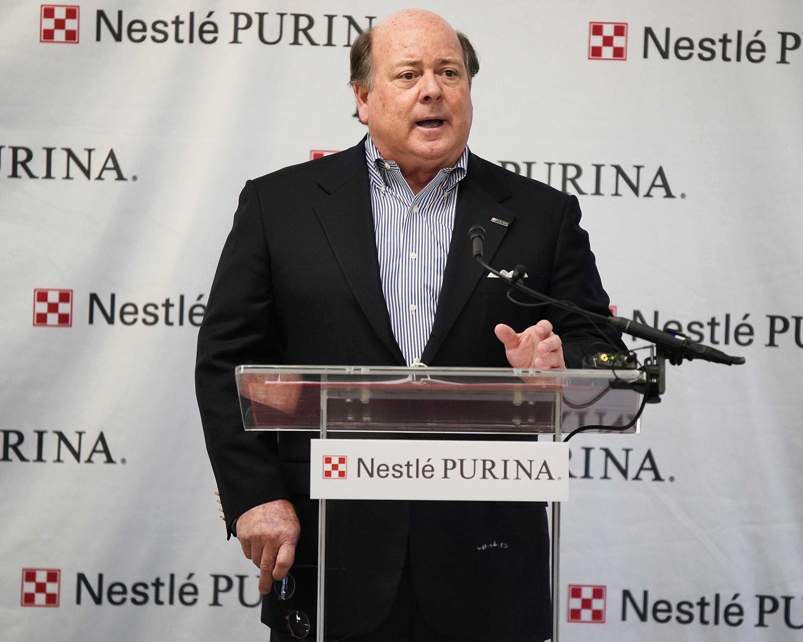 Purina CEO Joseph Sivewright