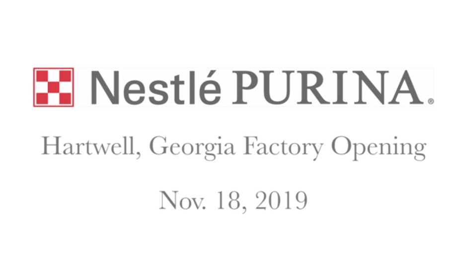 Pet Care Leader Purina Opens 21st Factory in United States