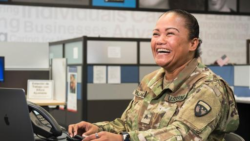 "Goodwill says, ""Thank you for your service,"" by ensuring veterans are equipped for the civilian workforce."