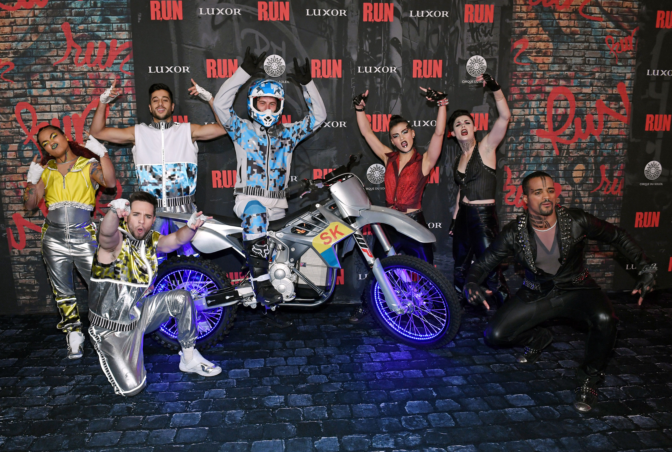 Luxor Celebrates The World Premiere Of R.U.N – The First Live-Action Thriller Produced By Cirque du Soleil