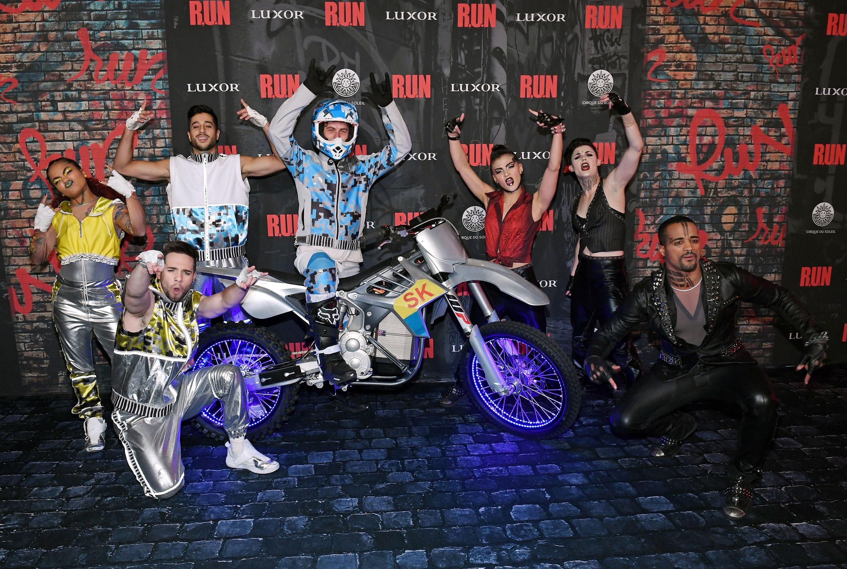 Cast of R.U.N Poses on Red Carpet at World Premiere, Nov. 14