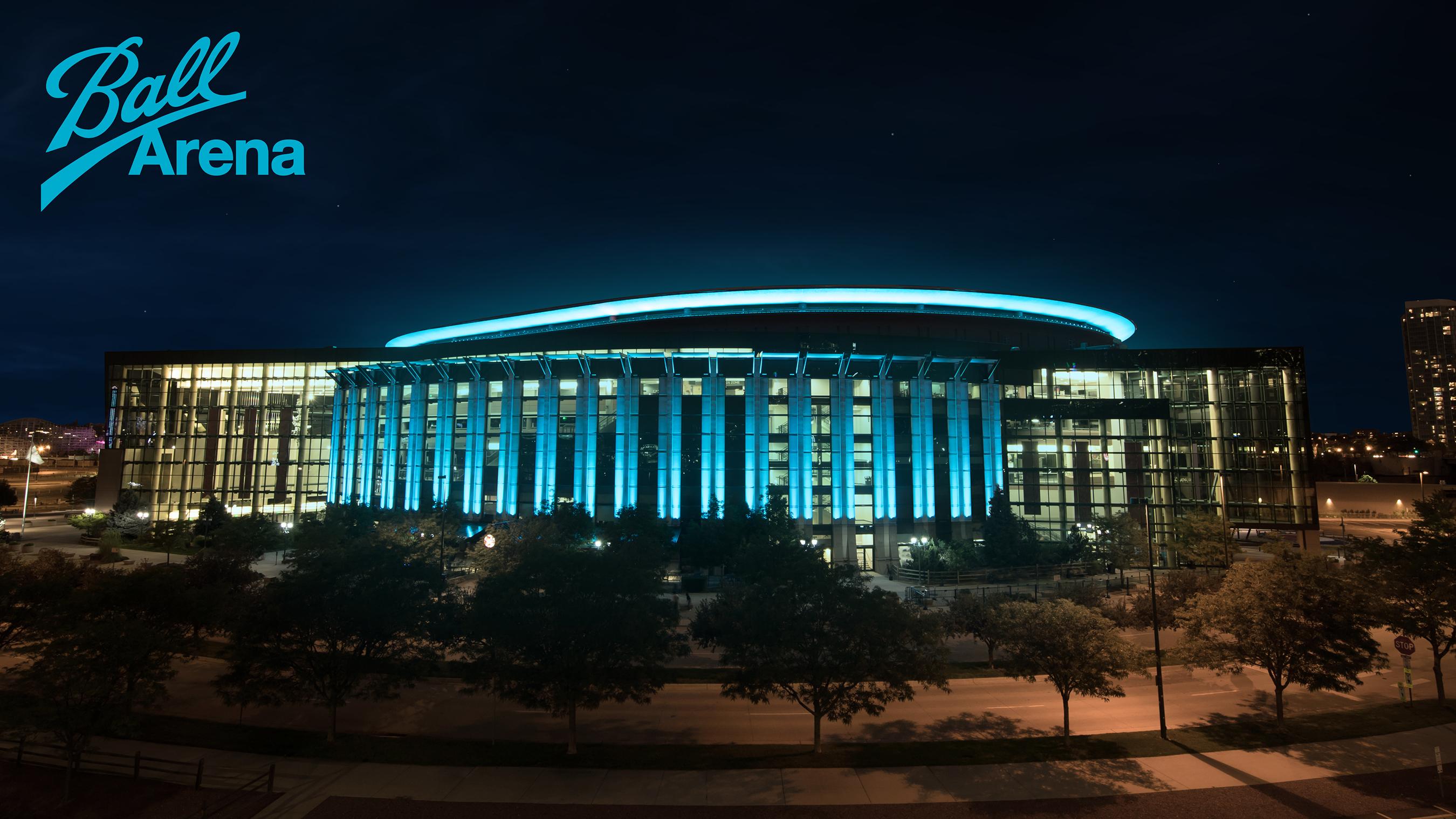 Ball Arena Exterior