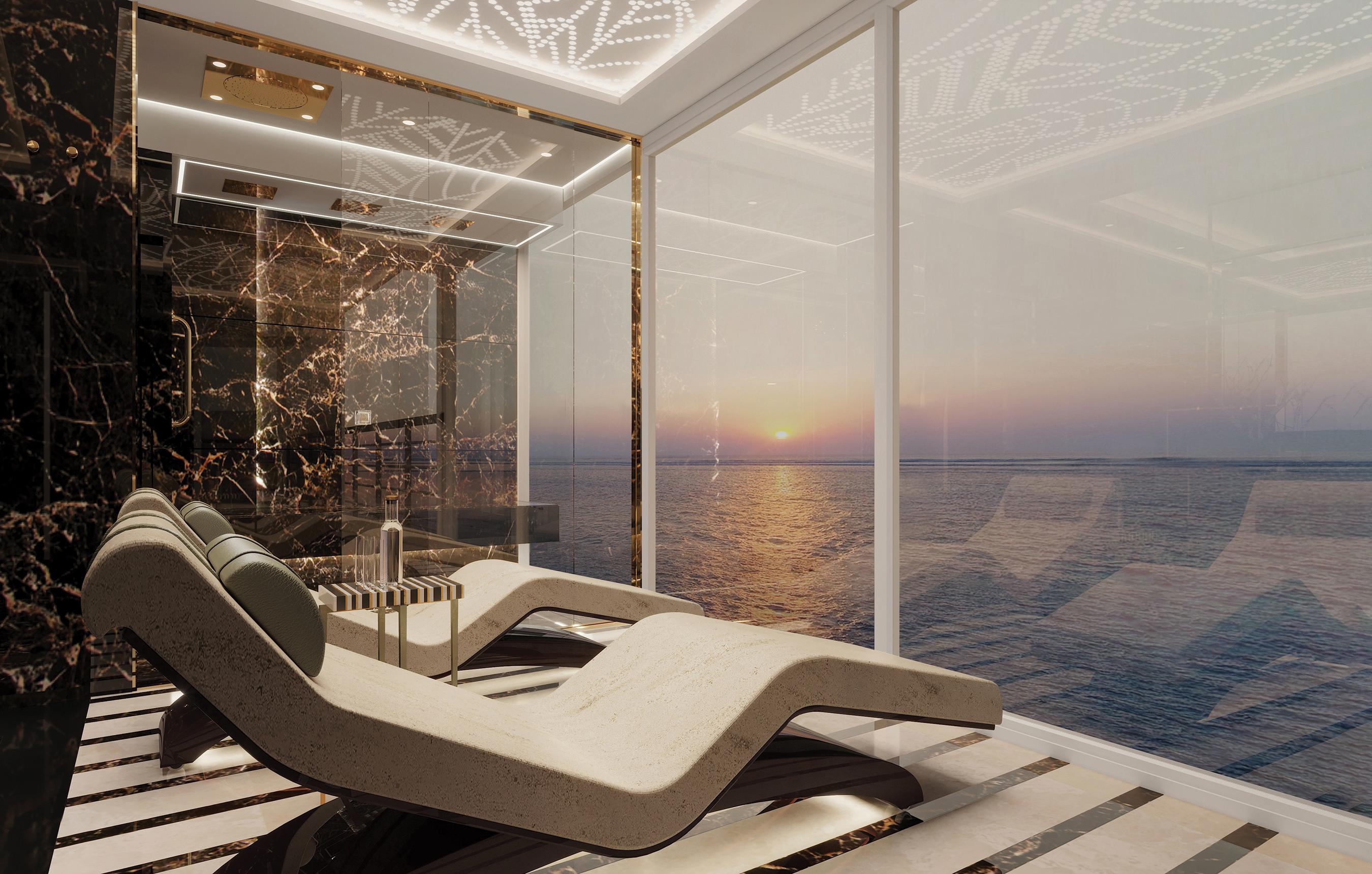 Seven Seas Splendor Regent Suite Master Bath