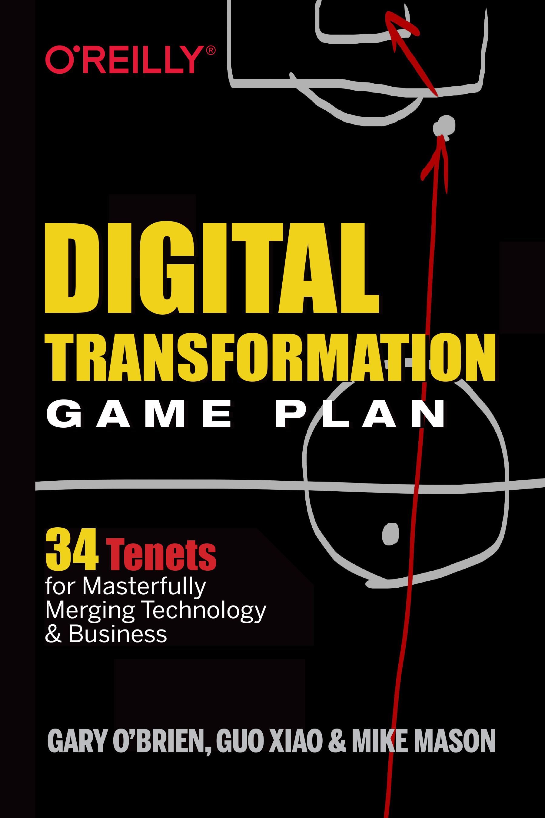 Digital Transformation Game Plan book cover