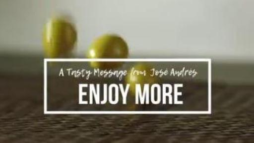Jose Andrés' Tasty Message Video