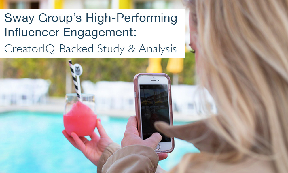 Sway Group partnered with CreatorIQ to reveal how we beat the average Instagram engagement rate with high-performing content that's also way above benchmark for Facebook, video, Twitter, and more.