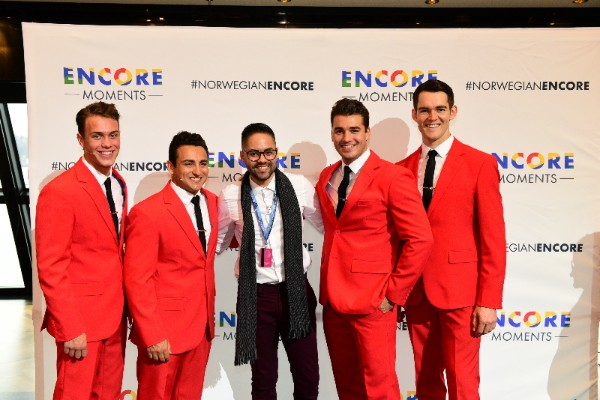 Today, in New York City, Norwegian Cruise Line's Encore Moments Winners enjoyed a preview of the cruise line's Broadway-caliber entertainment, including a performance by the Tony Award®-winning