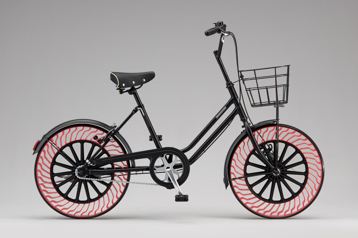 Onsite at CES, Bridgestone will showcase its portfolio of advanced air free tires, including concepts for personal mobility such as bicycles and small electric vehicles.