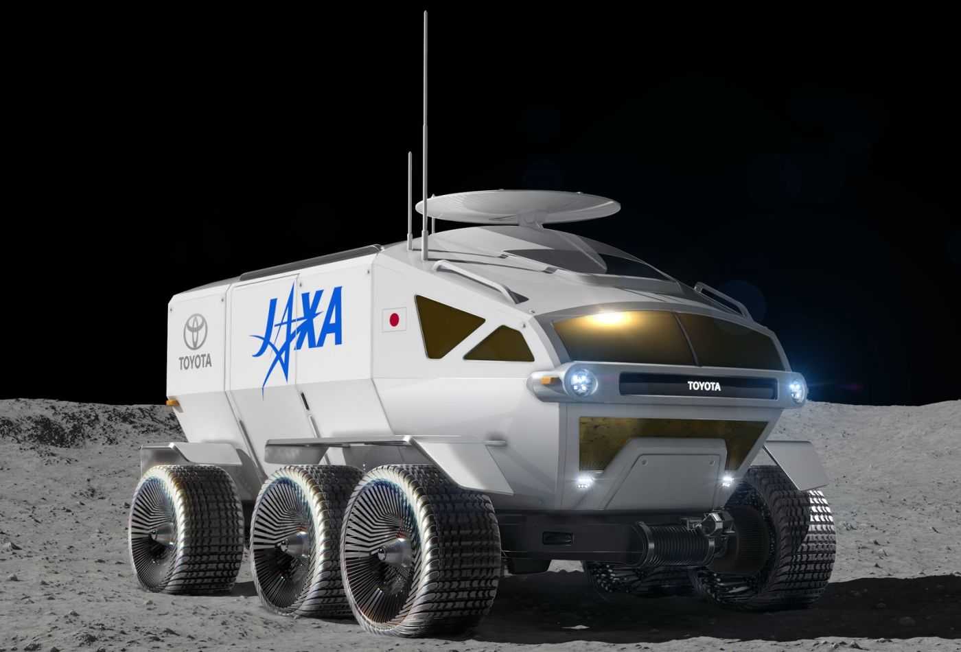 As a testament to the company's innovation and commitment for future mobility, Bridgestone will showcase an airless, elastic tire and wheel solution for a lunar rover at CES 2020.