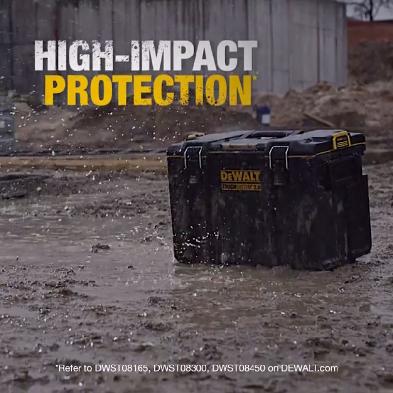 Reinforced for high impact protection**