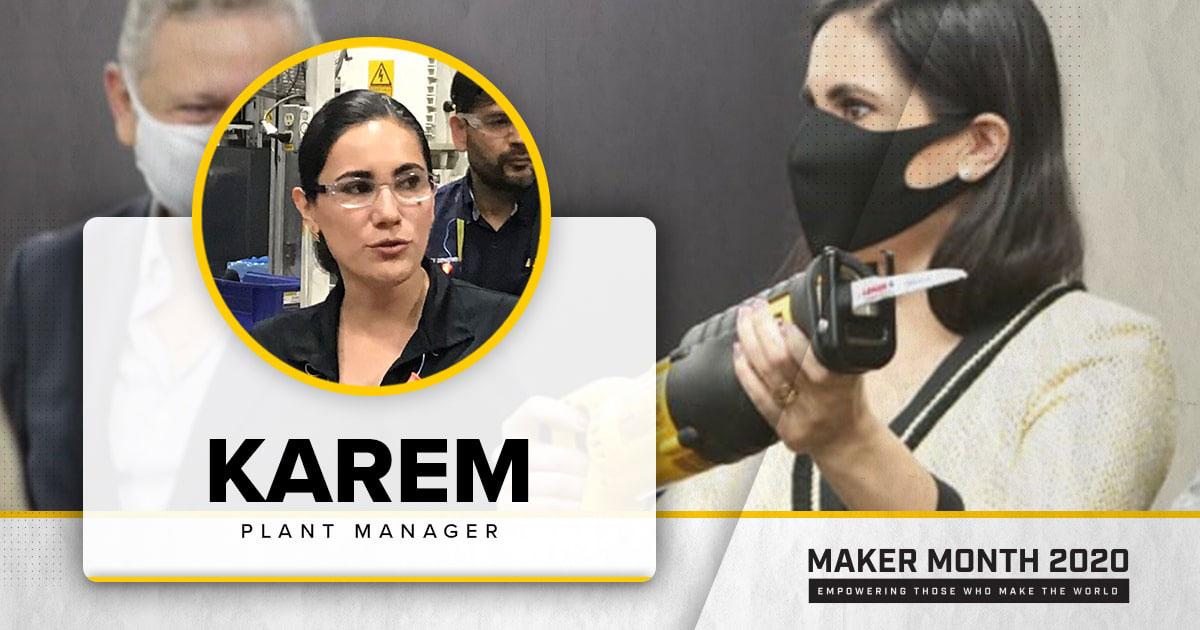 Meet Our 31 Makers: Karem, Plant Manager