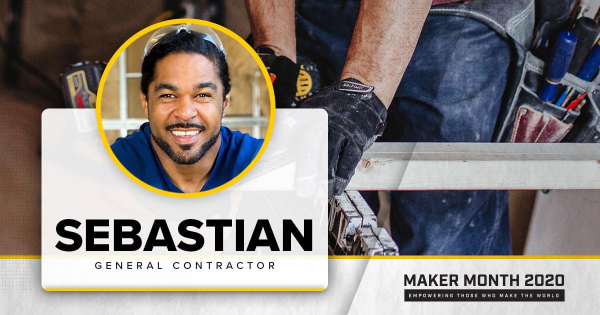 Meet Our 31 Makers: Sebastian, General Contractor