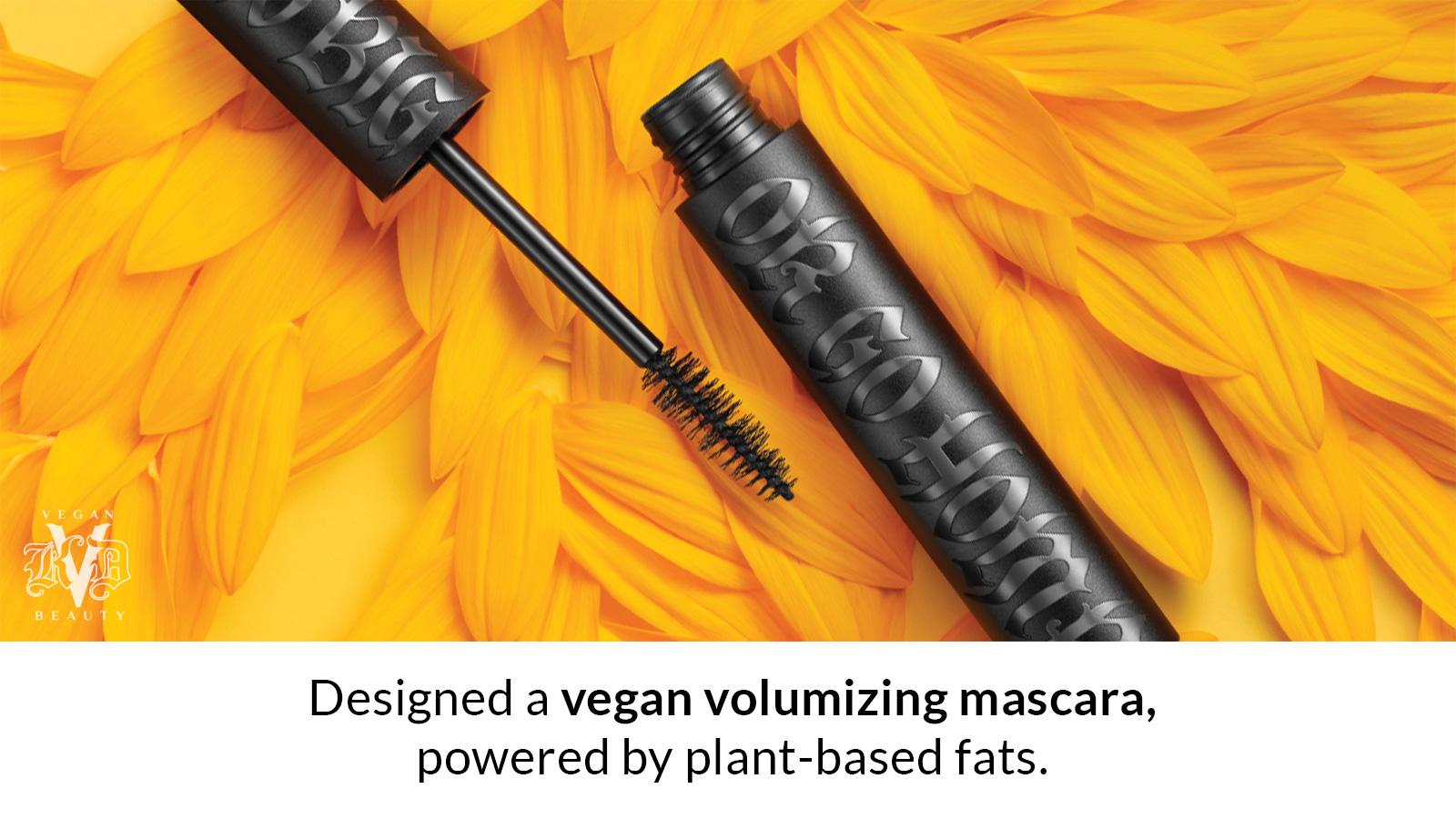 Designed a vegan volumizing mascara, powered by plant-based fats.