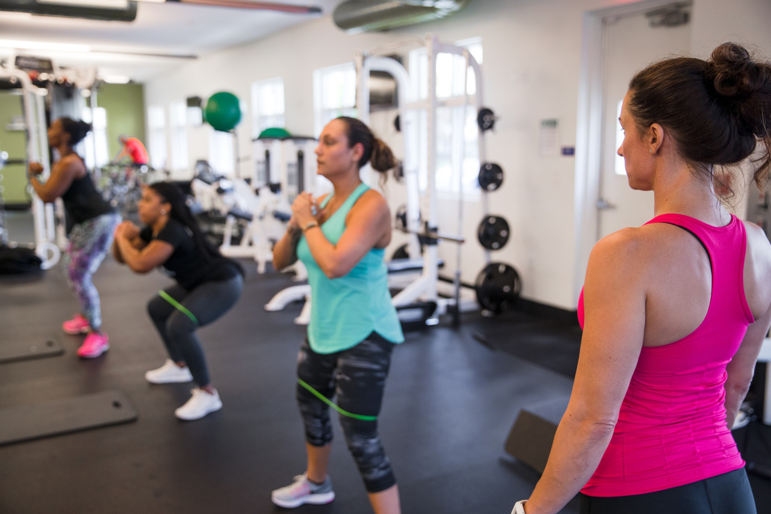 Bankers Healthcare Group, ranked No. 12 Best Workplace for Millennials by Fortune, offers on-site gyms to help employees stay healthy.