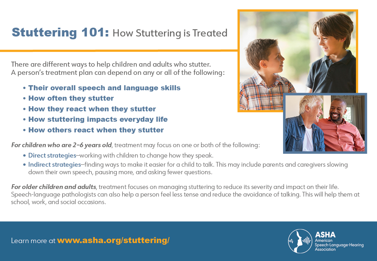 How Stuttering is Treated