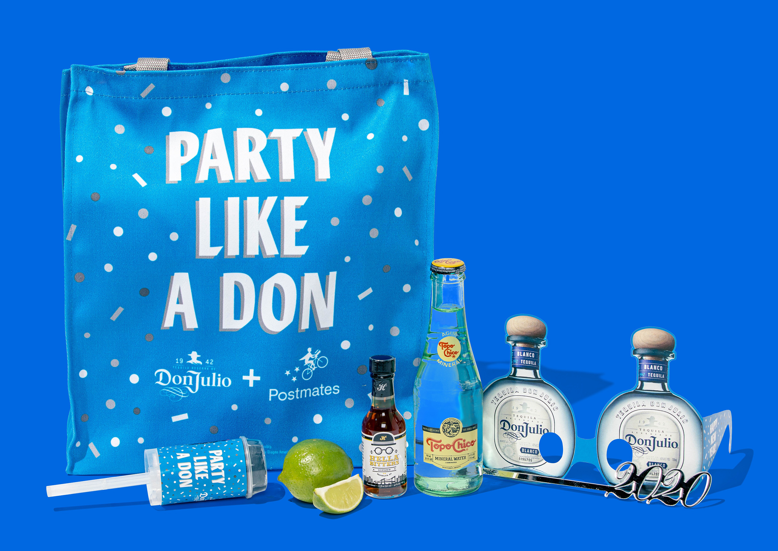 The Limited Edition Don Julio Party Pack on Postmates Curated by Lil Jon