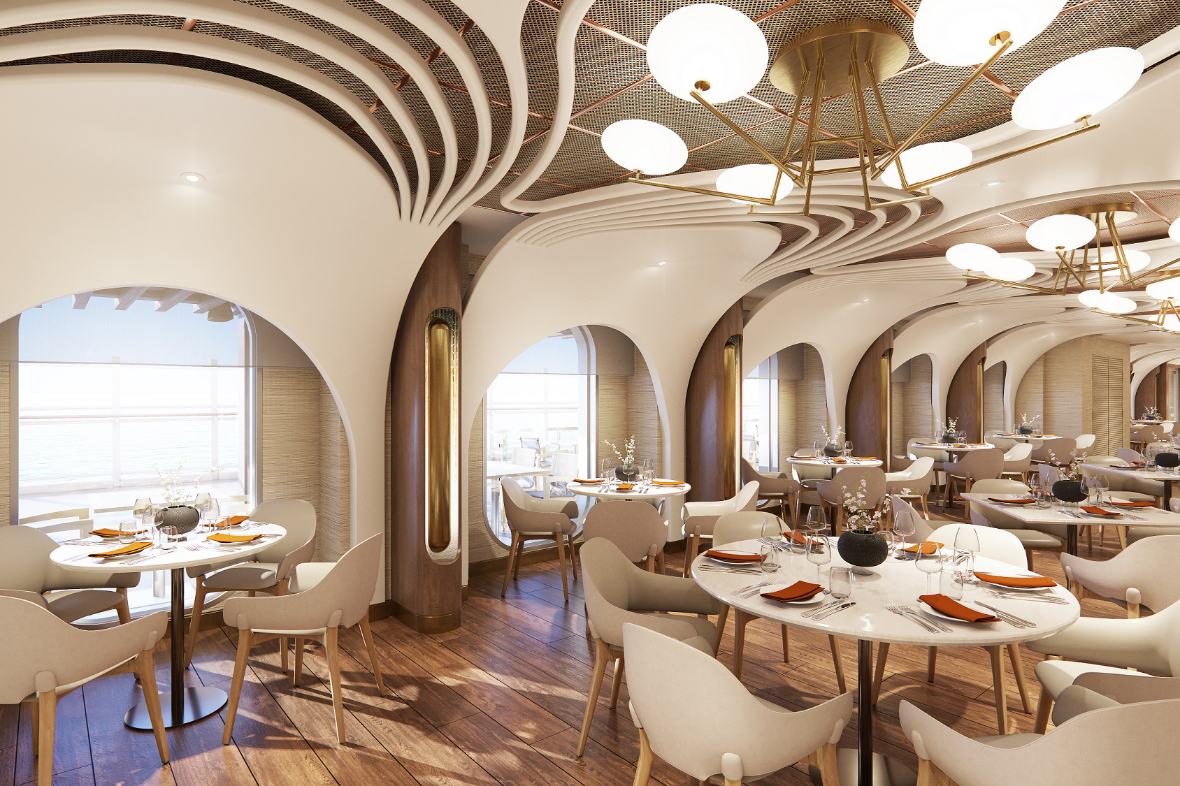 Onda by Scarpetta, the Italian restaurant on board Norwegian Prima, will offer expansive indoor and outdoor seating and will showcase the rich and bold flavors for which the modern Italian land-based, award-winning Scarpetta restaurants are recognized for.